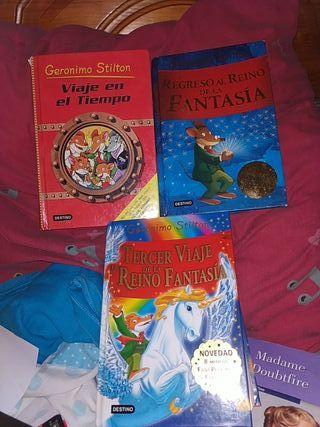 pack de 3 libros geronimo stilton uno gratis