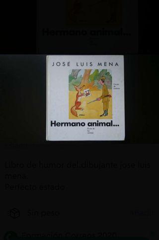 libro humor hermano animal
