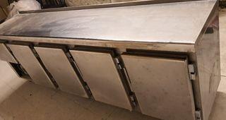 deja wasap bajomostrador industrial 2.50 de largo