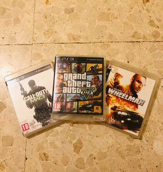 Oferta juegos play 3