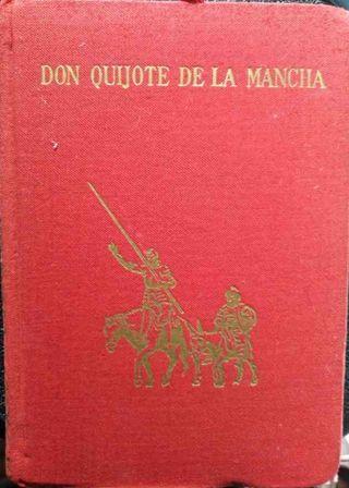 El Quijote de la mancha.