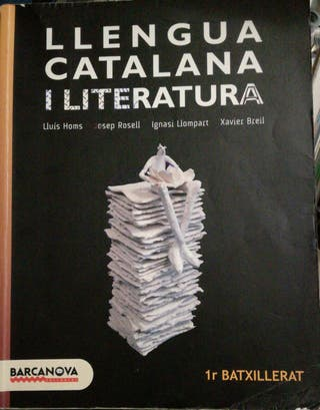 Libro Catalan 1r Bachillerato