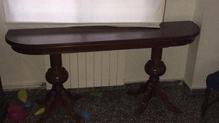 mesa comedor madera antigua