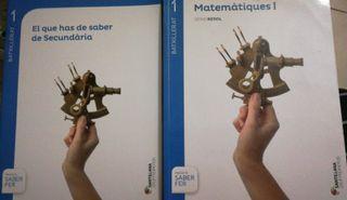 Libro Mates 1r Bachillerato