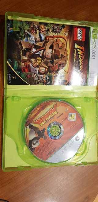 Indiana Jones y Kung fu Panda XBOX360