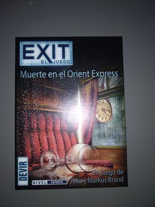 Juego exit scape room