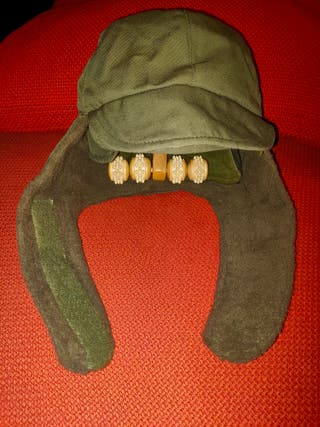 Gorro orejero del ejército español.