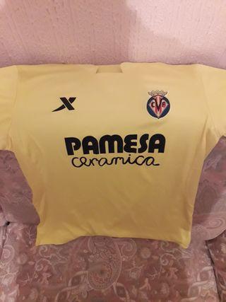 Camiseta del Villarreal C.F. Temporada 2016/2017