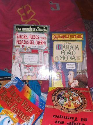 pack dos libros :de coleccion :Esa horrible.....