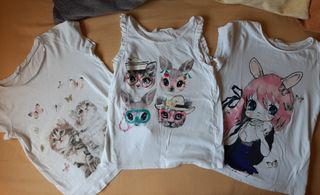camisetas h&m 6/8