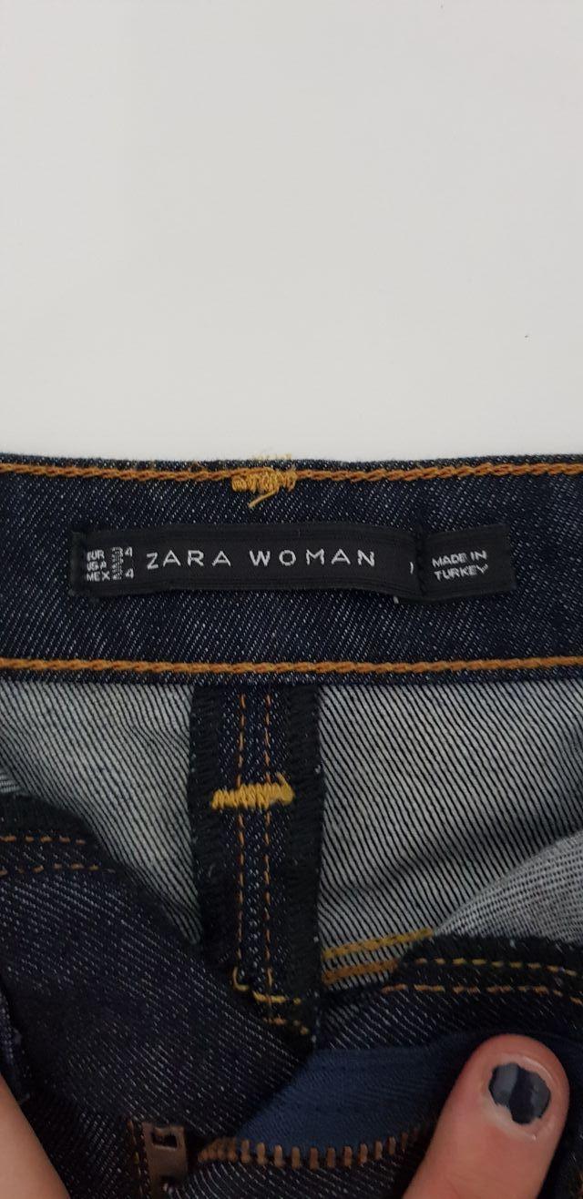 Falda vaquera Zara comen t. 34