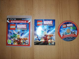 JUEGO LEGO MARVEL SUPER HEROES PARA PS3