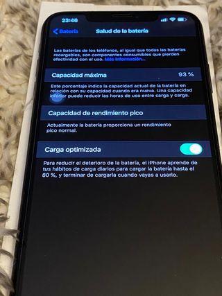Iphone xs max 64gb bateria 93%