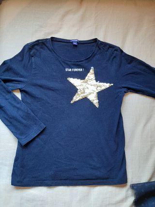 camiseta niña 8 años