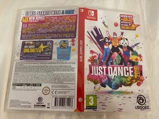 Juego just dance 2019 Nintendo switch
