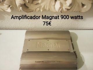 Amplificador Magnat 900 watts