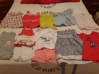 Lote ropa de 6 a 9 meses niña.