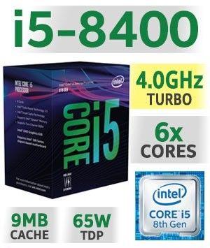 Procesador i5 8400 8va Gen! 1151