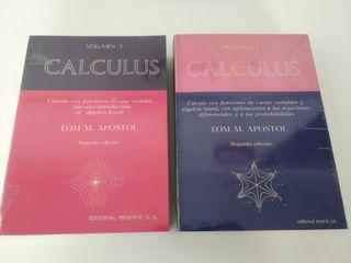 Libros Cálculo (2 tomos) - Apóstol