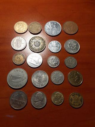 Monedas del mundo lote 3