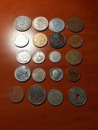 Monedas del mundo lote 4