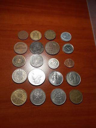 Monedas del mundo Lote 1