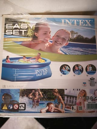 vendo piscina inchable