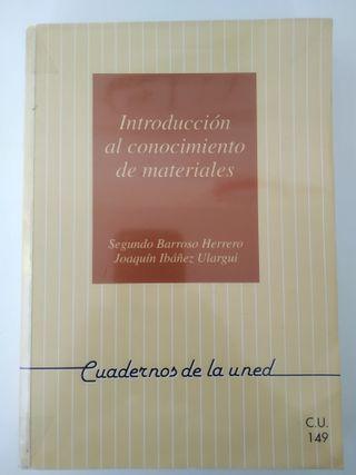 """Libro """"Introducción Conocimiento Materiales"""""""