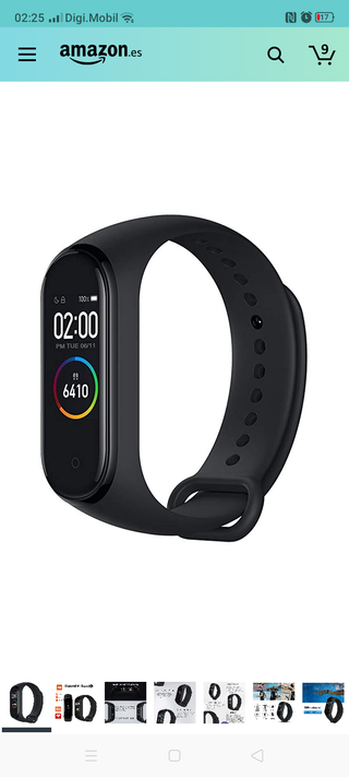 Mi band 4 reloj inteligente