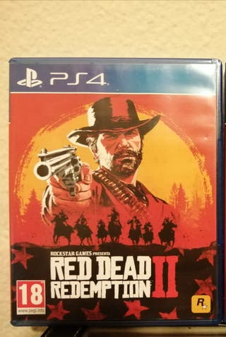 Juego ps4 Red read ps4
