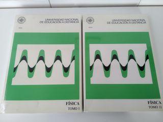 Libros Física UNED (2 tomos)