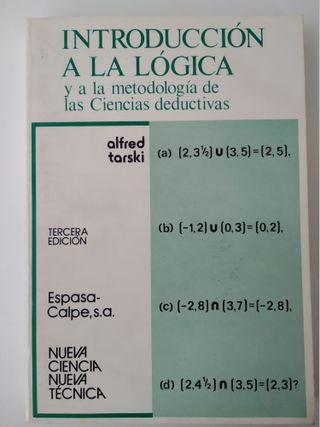 """Libro """"Introducción a la Lógica"""""""