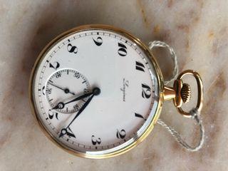 Reloj bolsillo Longines de oro