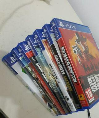 Juegos PS4 ****ESCUCHO OFERTAS****
