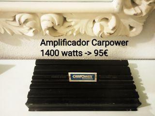 Amplificador Carpower 1400 watts