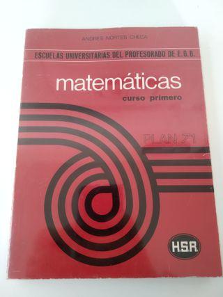 Libro Matemáticas Profesorado EGB