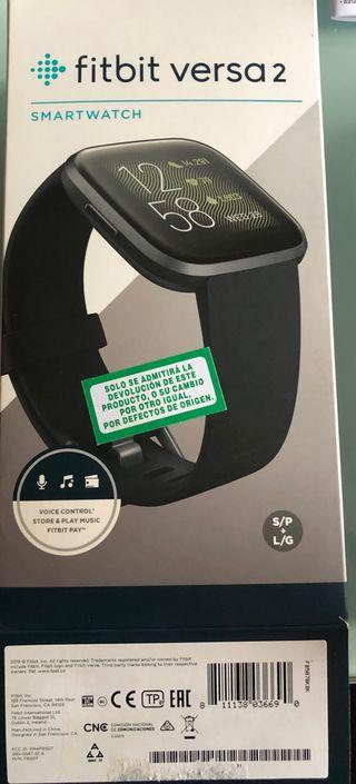 Smartwatch Fitbit Versa 2/ REGALO PUL.ACTIV POLAR