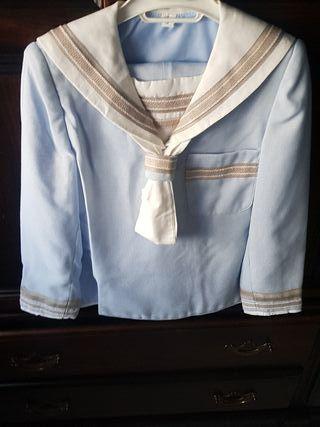 traje de comunión talla 8