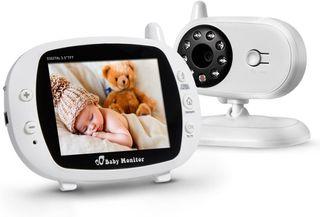 """Vigilabebé Bebé Monitor Inteligente con LCD 3.5"""""""