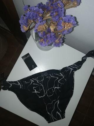 Braguita de bikini estampado marmolado