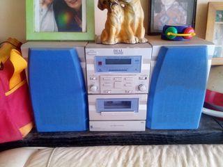 radio de CD y cinta