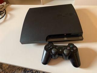 PS3 Sony PlayStation 3 slim 320GB + mando