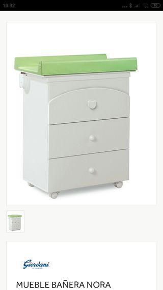 Mueble cambiador con bañera Prenatal