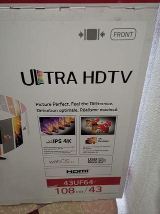 SMART TV LG ULTRA HD 4K 43