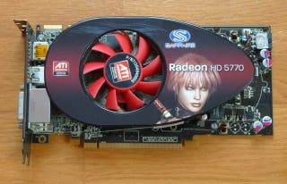 Tarjeta gráfica AMD Radeon HD 5770