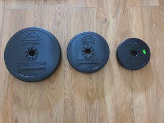 Disco pesas NUEVO gimnasio
