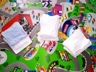 Lote 22 camisetas interiores niño Tallas 3-5
