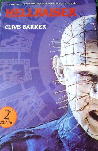 Libro Hellraiser, de Clive Barker