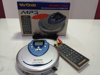 Reproductor CD/MP3 mxonda