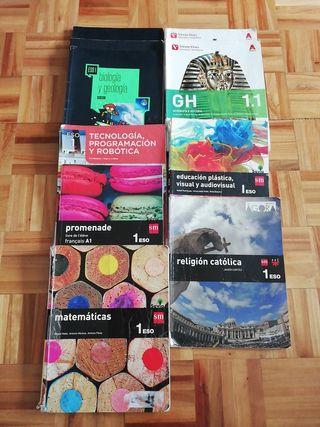 Libros 1°Eso 4€ c/u